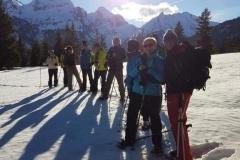 Schneeschuh-Wanderung Grabserberg 2018